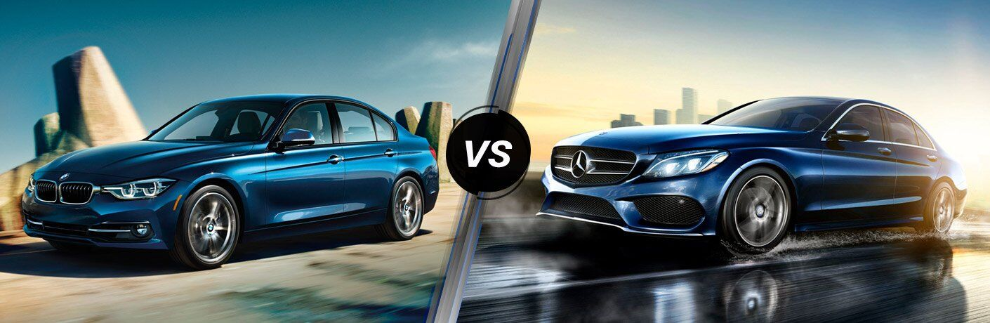 2017 BMW 3 Series vs 2017 Mercedes-Benz C-Class