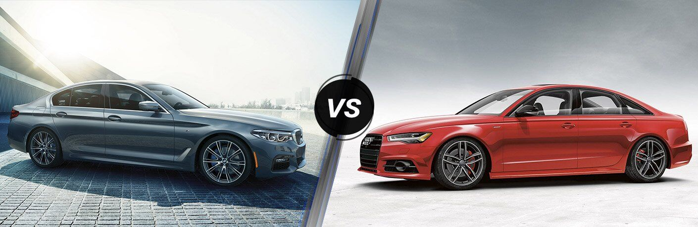 2017 BMW 5 Series vs 2017 Audi A6