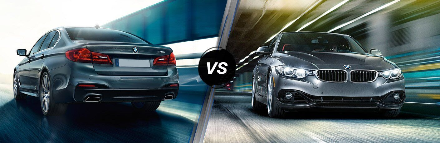 2017 BMW 5 Series vs 2017 BMW 4 Series