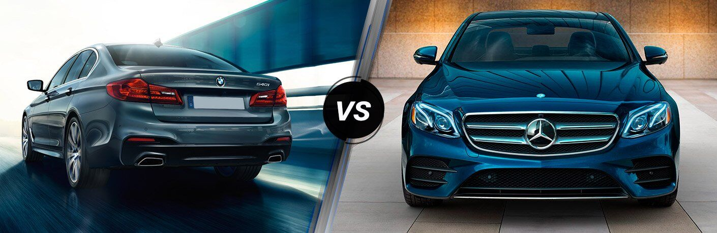 2017 BMW 5 Series vs 2017 Mercedes-Benz E Class