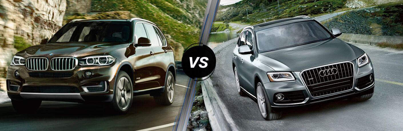 BMW X Vs Audi Q - Audi q5 vs bmw x5