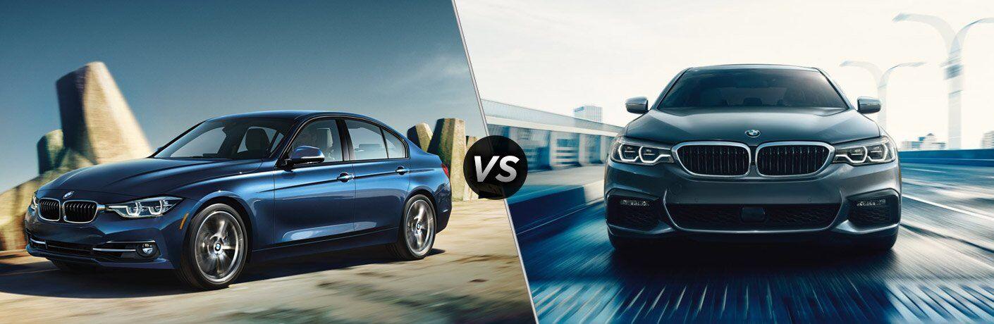 2017 BMW 3 Series vs 5 Series