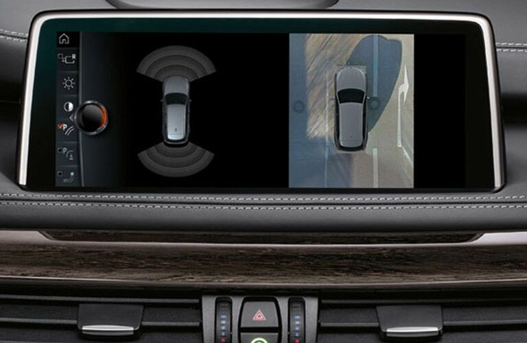 safety camera on the 2017 BMW X5
