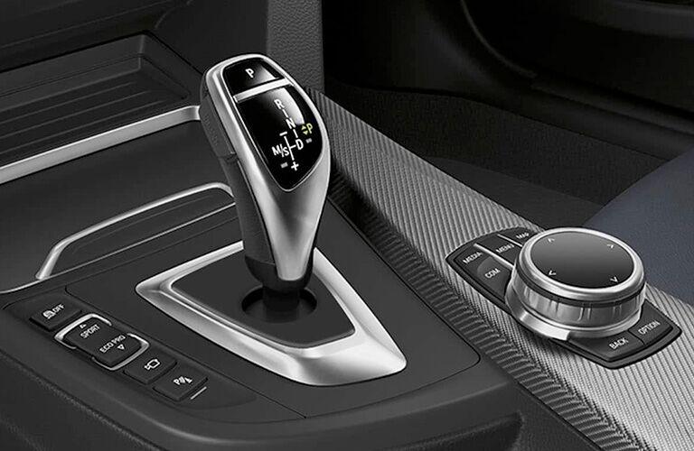 2019 BMW 4 Series Redesigned Shift Knob Interior Console Closeup