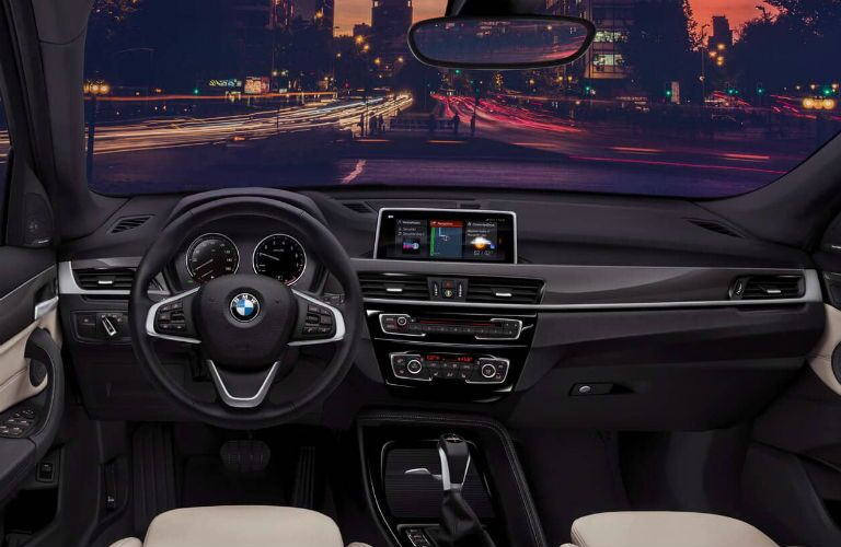 decadent and sprawling interior of 2019 bmw x1