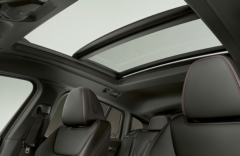 sun roof from inside bmw x4