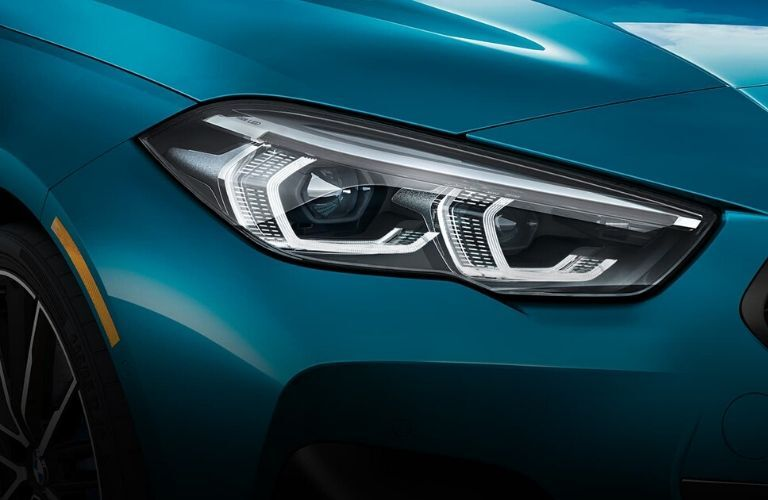 2020 BMW 2 Series Gran Coupe headlights