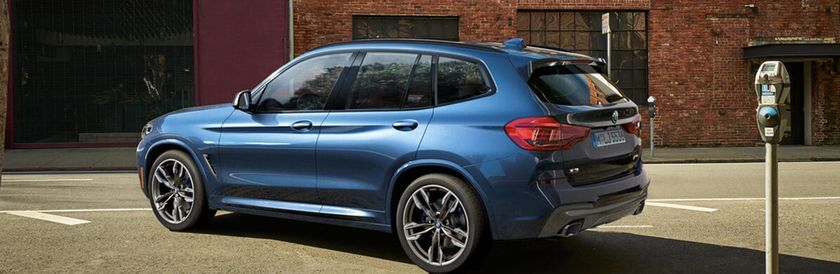 2020 BMW X3 in parking lot