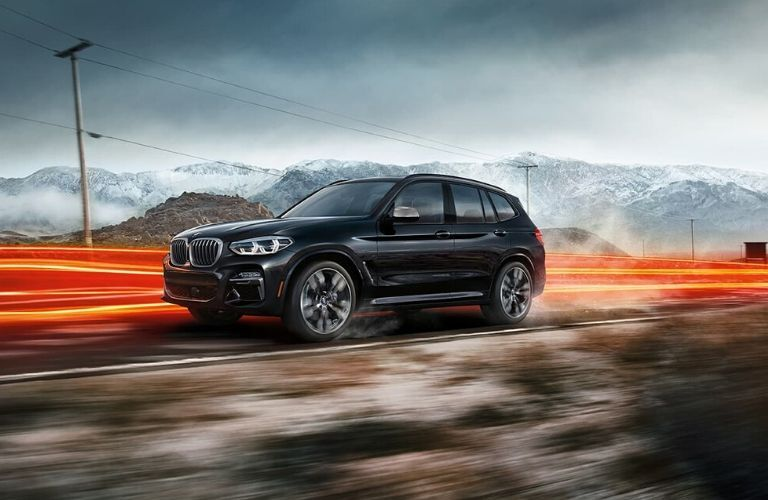 2020 BMW X3 on country road