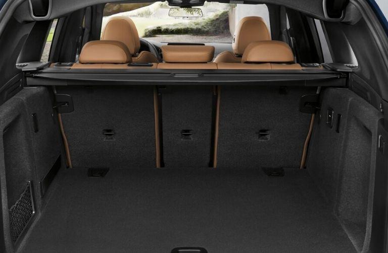2020 BMW X3 cargo area