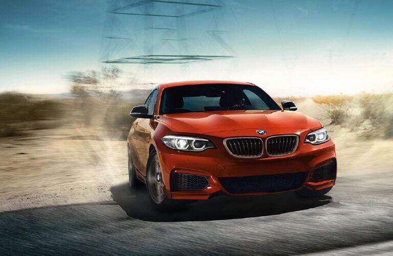 2021 BMW 2 Series in desert terrain