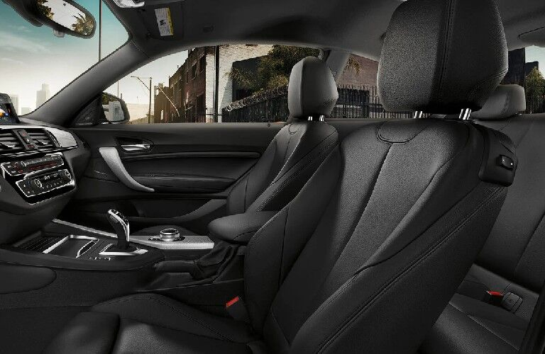 2021 BMW 2 Series front seats