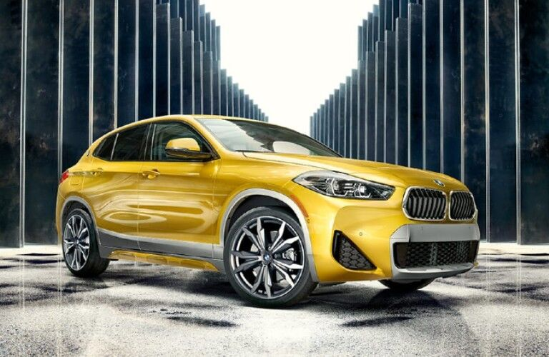 2021 BMW X2 front fascia and exterior design