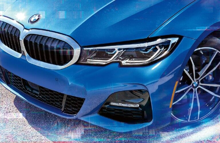 2021 BMW 3 Series front fascia