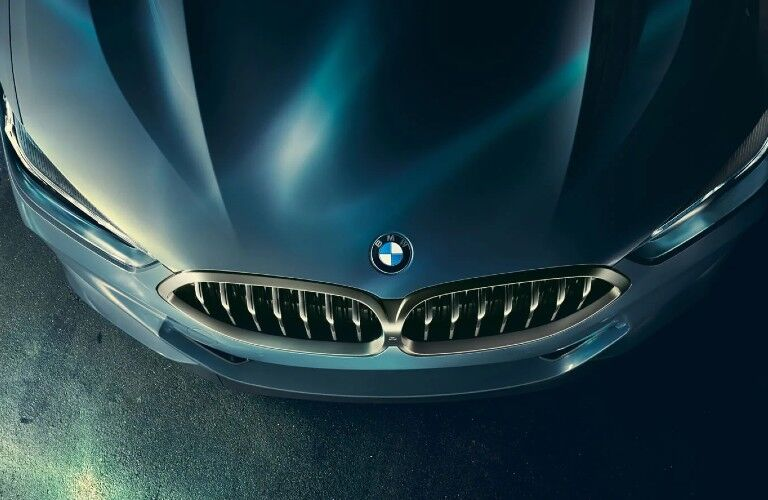 2021 BMW 8 Series hood and front fascia