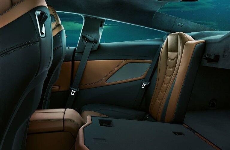 2021 BMW 8 Series rear seats