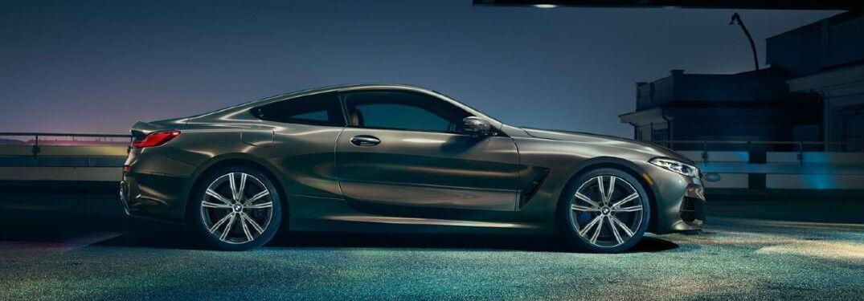 2021 BMW M850i xDrive Coupe side profile