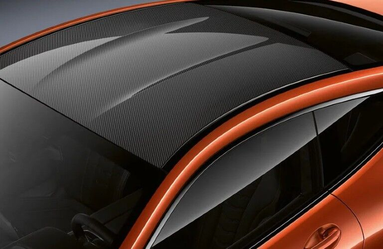 2021 BMW M850i xDrive Coupe roof panel
