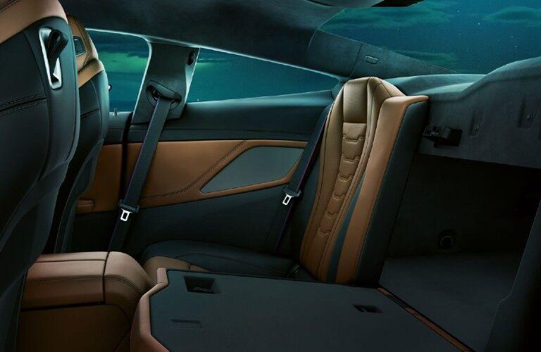 2021 BMW M850i xDrive Coupe rear seat