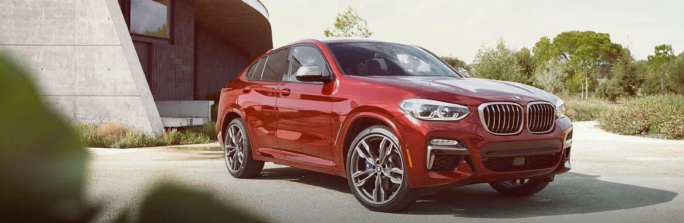 2021 BMW X4 on pavement