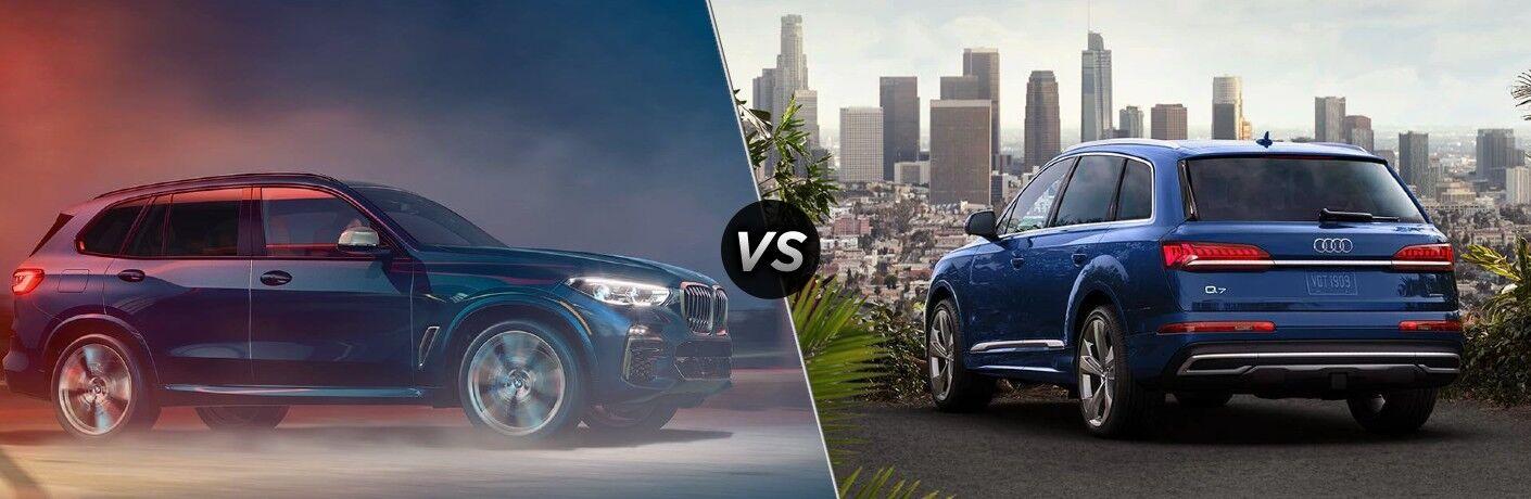 2021 BMW X5 vs 2021 Audi Q7