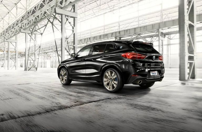 2022 BMW X2 Black Rear View