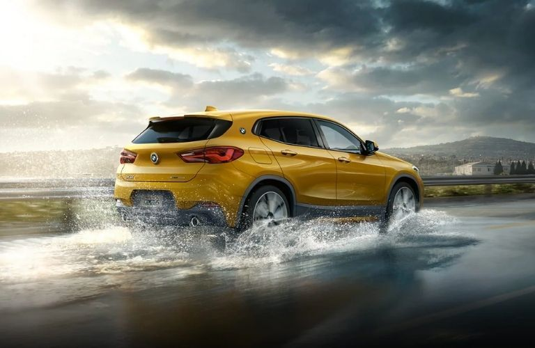 2022 BMW X2 on Water