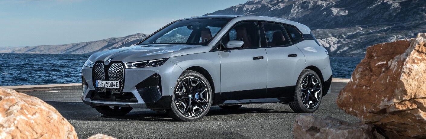 2022 BMW iX by water's edge
