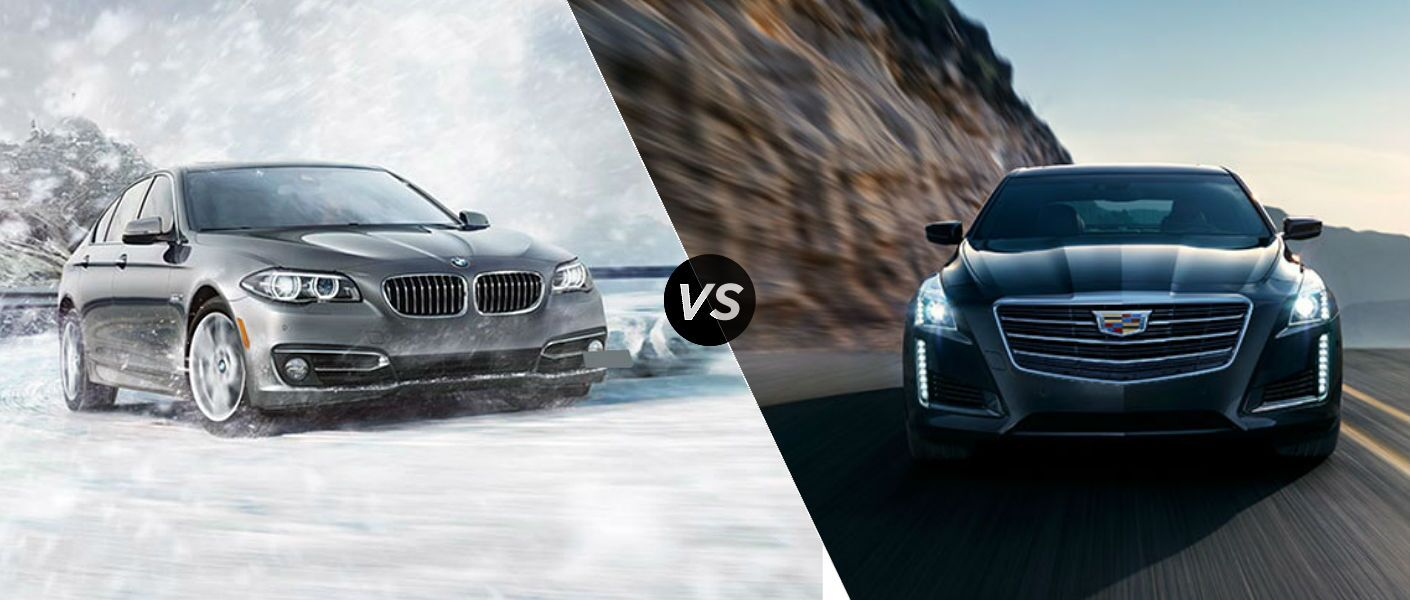 2016 BMW 5 Series vs. 2016 Cadillac CTS comparison