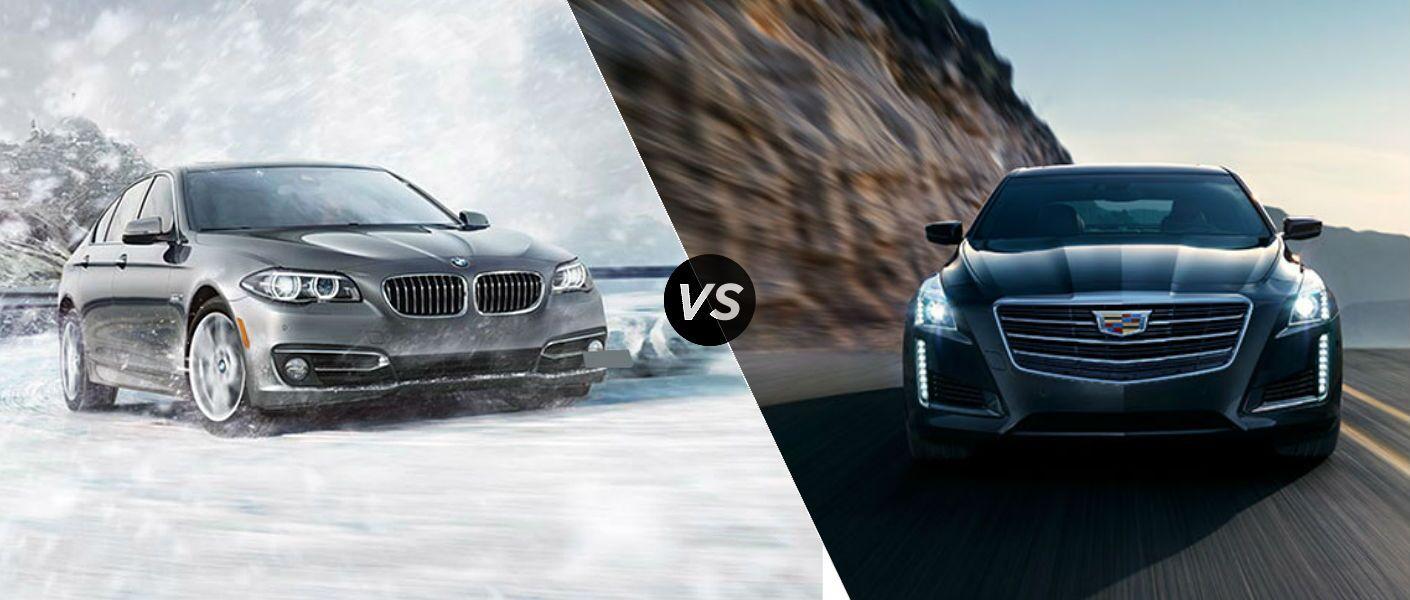 2016 BMW 5 Series vs. 2016 Cadillac CTS comparison