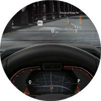 head up display in 2019 bmw 3
