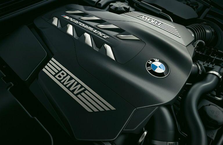 engine in 2020 bmw m850i