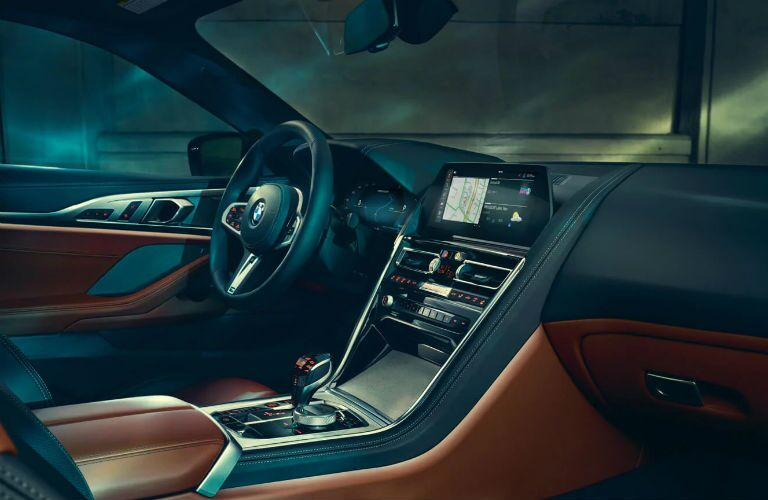 interior of 2020 bmw 8 series coupe