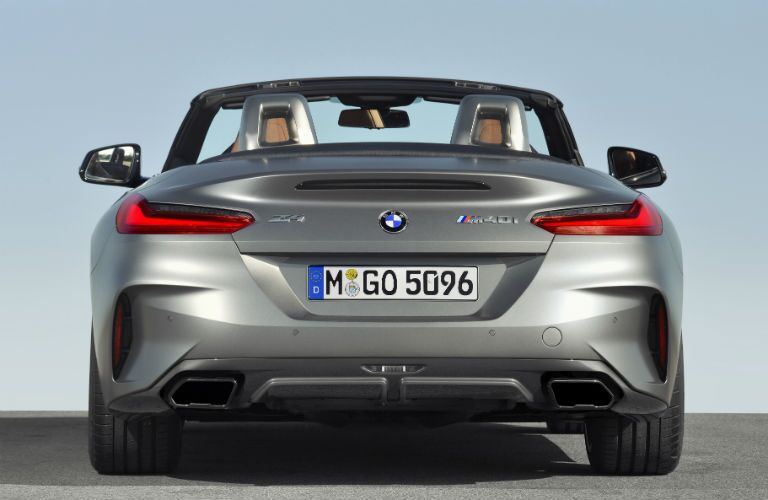 rear view of 2019 bmw z4