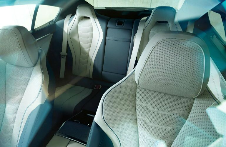 rear seat in 2020 bmw m850i
