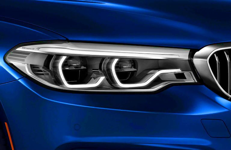signature led lighting on 2020 bmw 5 series