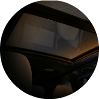 panoramic glass roof in bmw x7