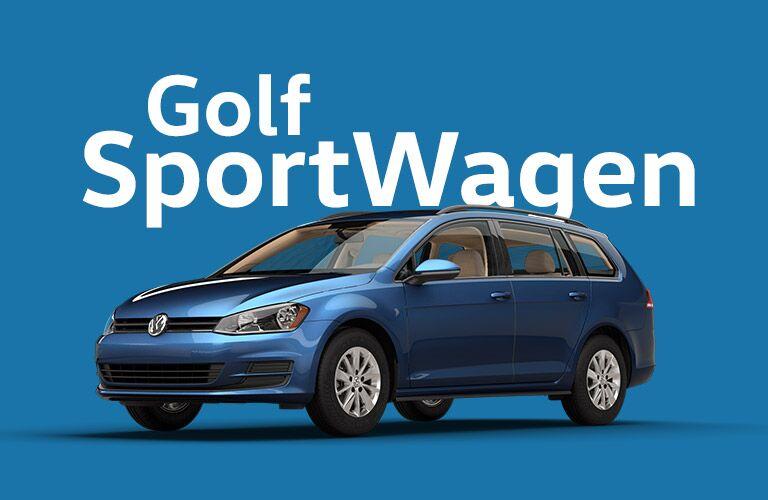 Volkswagen Golf SportWagen models
