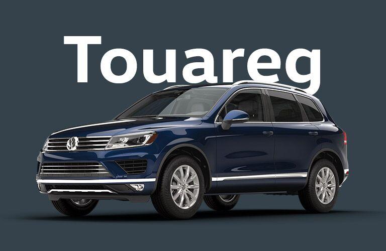 Volkswagen Touareg models