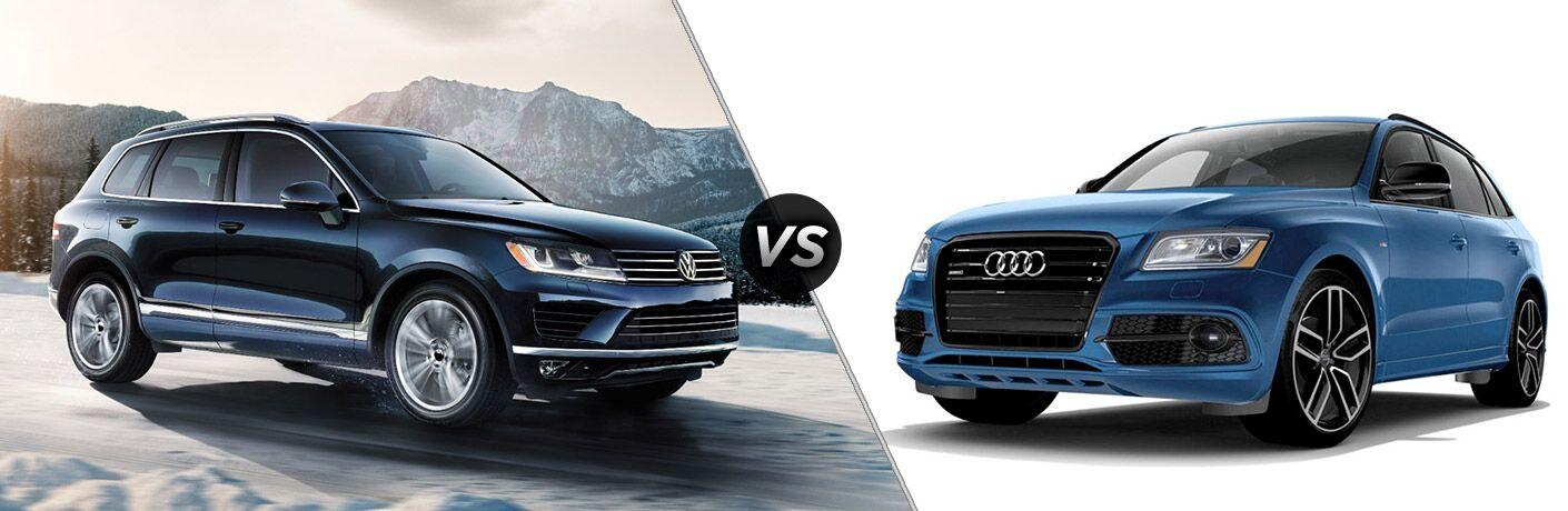 2017 Volkswagen Touareg vs 2017 Audi Q5