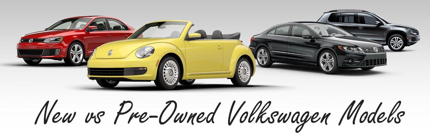 New vs Pre-Owned Volkswagen Models Topeka KS