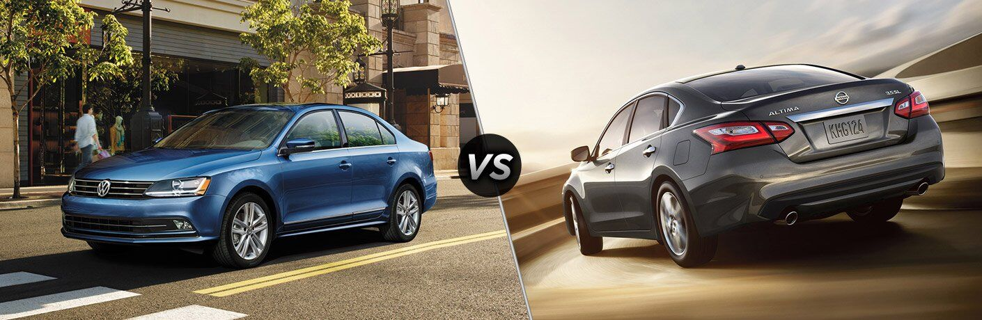 2017 Volkswagen Jetta vs 2017 Nissan Altima