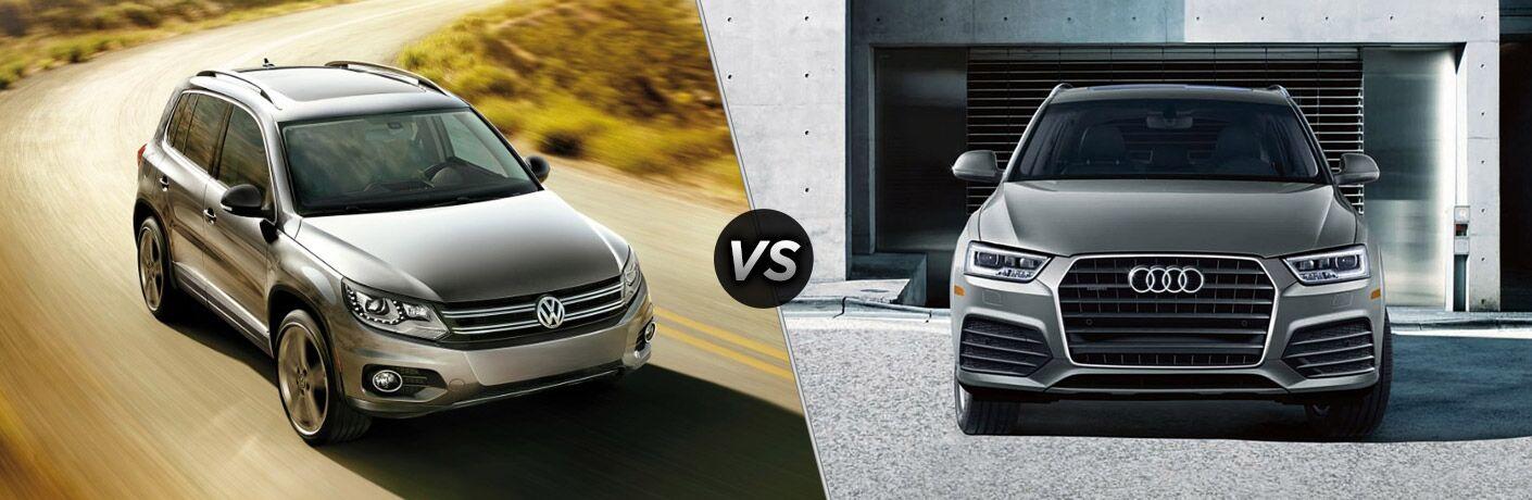 2017 Volkswagen Tiguan vs 2017 Audi Q3