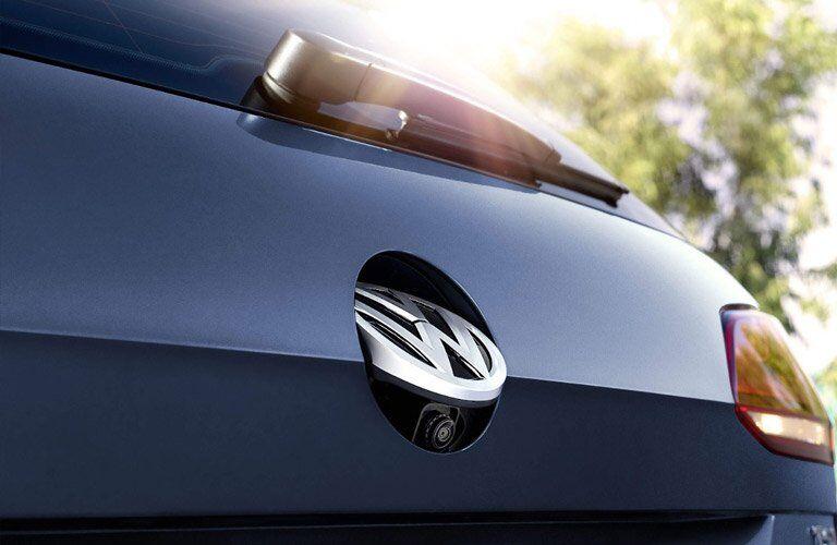 rearview camera of the 2017 Volkswagen Golf SportWagen