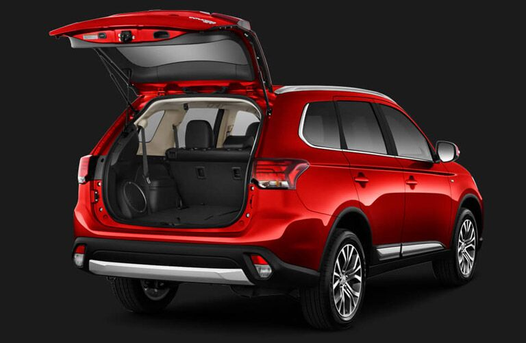 2016 Mitsubishi Outlander vs 2016 Dodge Journey cargo space