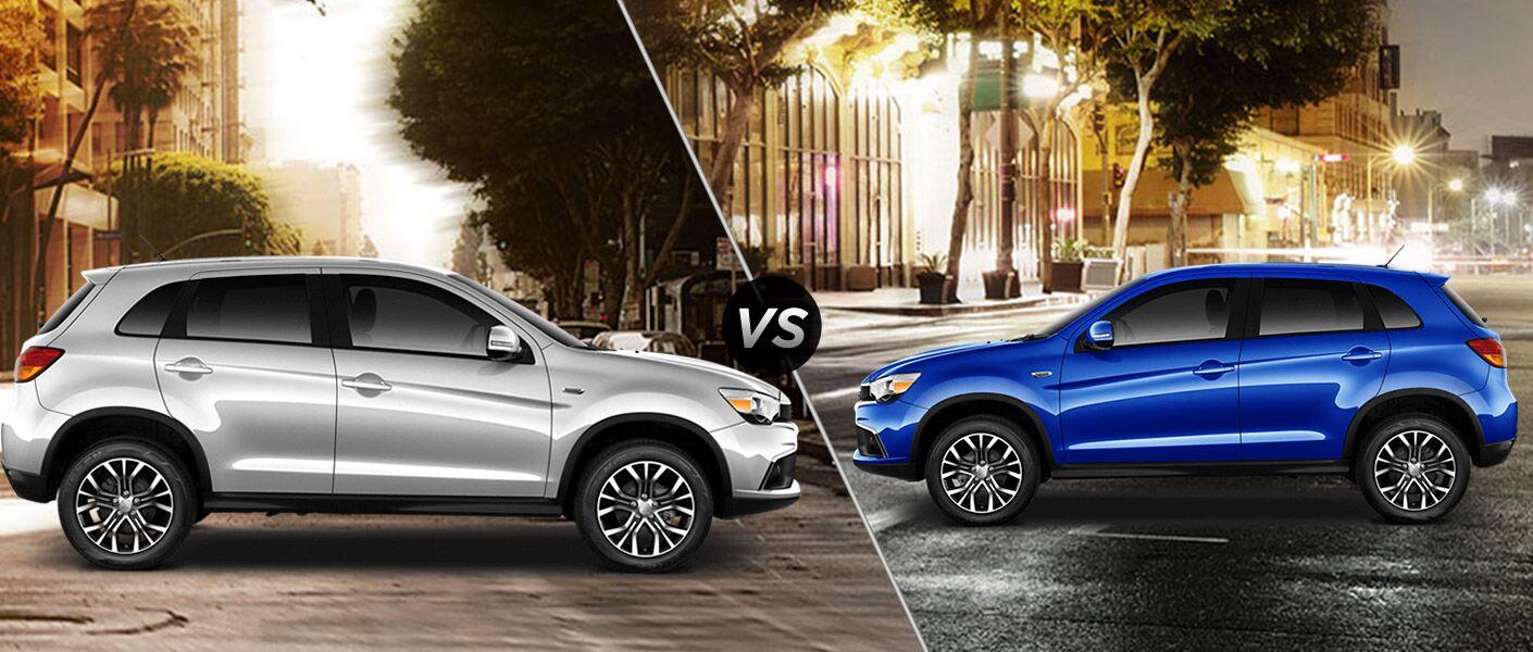 2016 Mitsubishi Outlander Sport ES vs SE