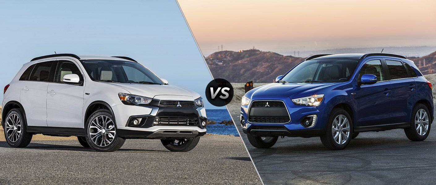 2016 Mitsubishi Outlander Sport vs 2015 Mitsubishi Outlander Sport