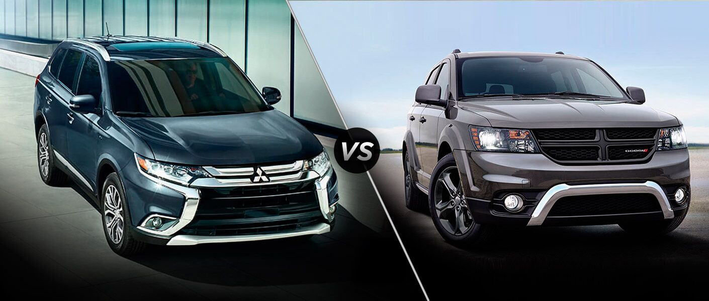 2016 Mitsubishi Outlander vs 2016 Dodge Journey