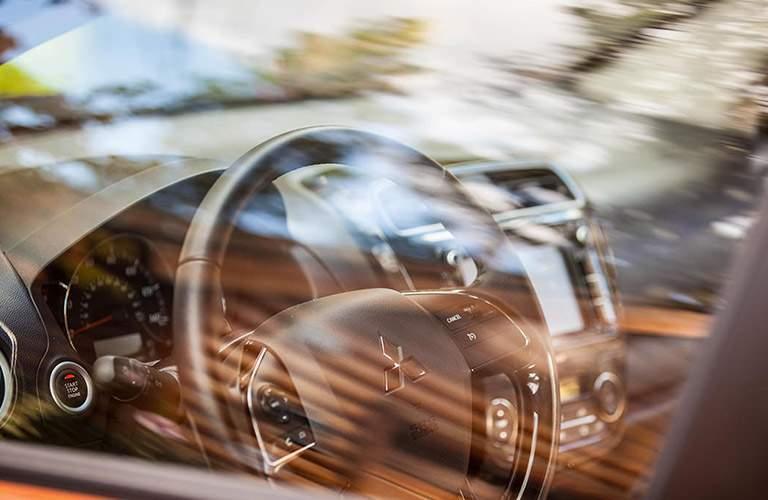 2017 Mitsubishi Mirage interior driver's seat