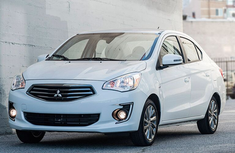2017 Mitsubishi Mirage G4 in Chicago and Orland Park IL gas mileage